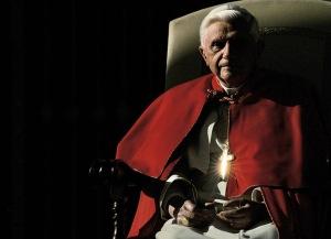 The cross of Pope Benedict XVI